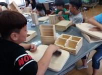 창의적인 목공활동(순흥초등학교)